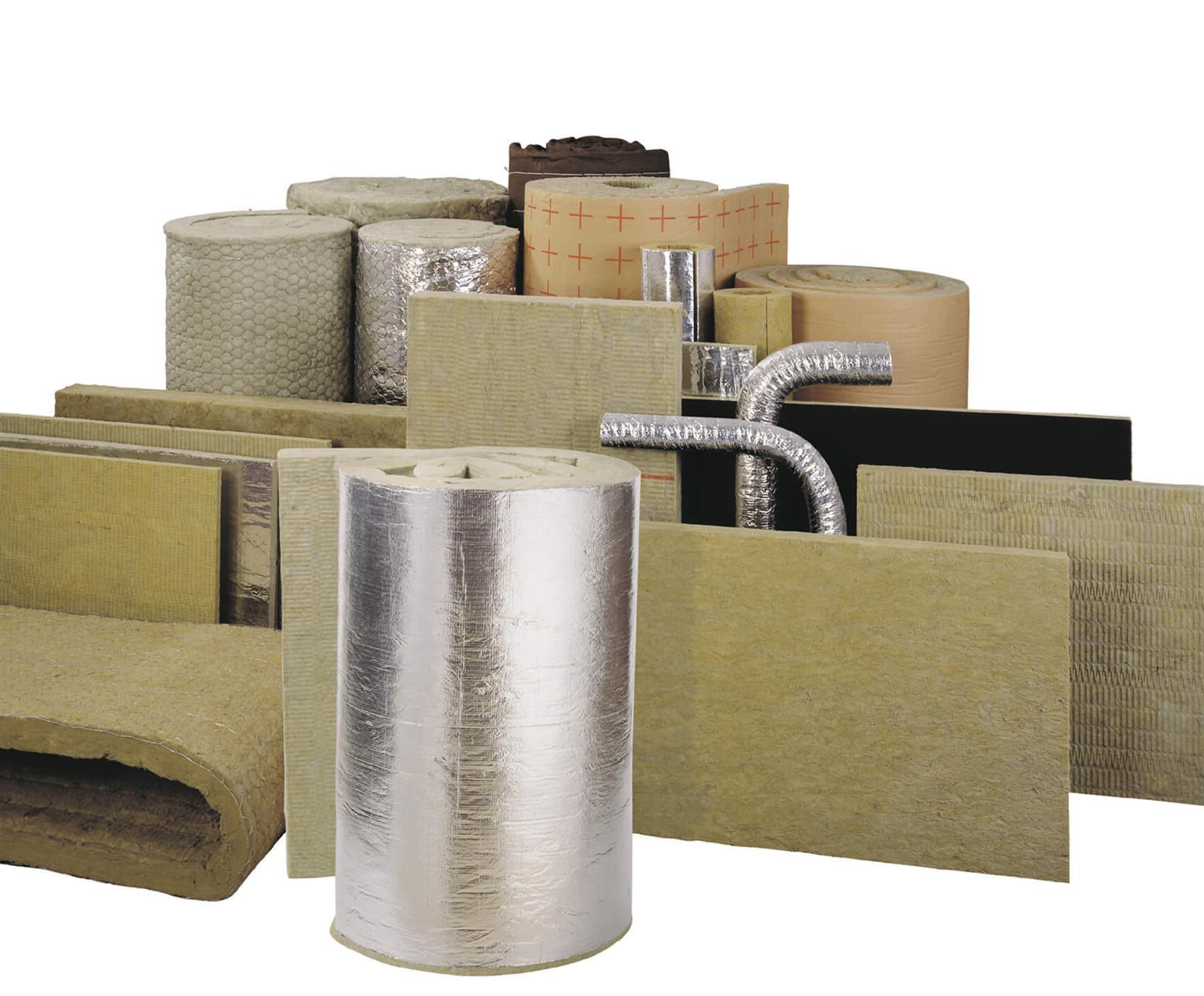 Теплоизоляционные и звукоизоляционные материалы