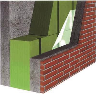 Теплоизоляционные плиты с вентиляционными канавками