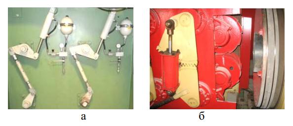 Устройства синхронизации раскрытия вальцов