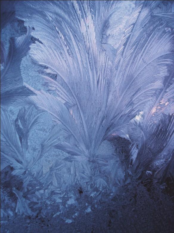 Узор «Мороз» – фактура стекла