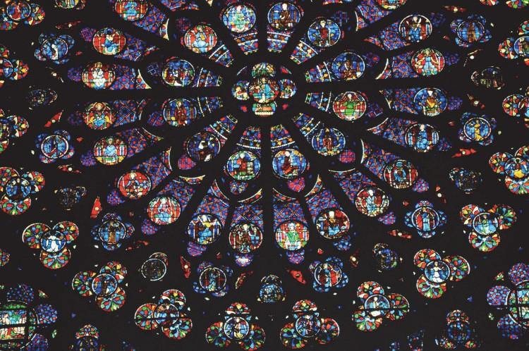 Витражи парижской церкви Сен-Шапель