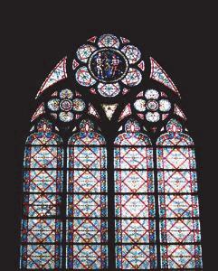 Витражи собора Парижской богоматери