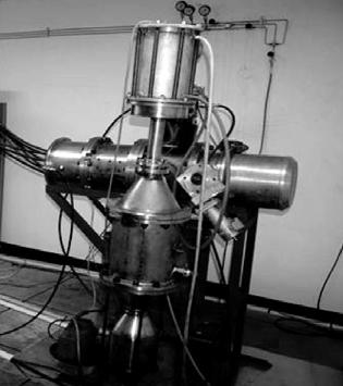 Внешний вид установки для получения нанопорошков методом взрыва проводников в газовых средах