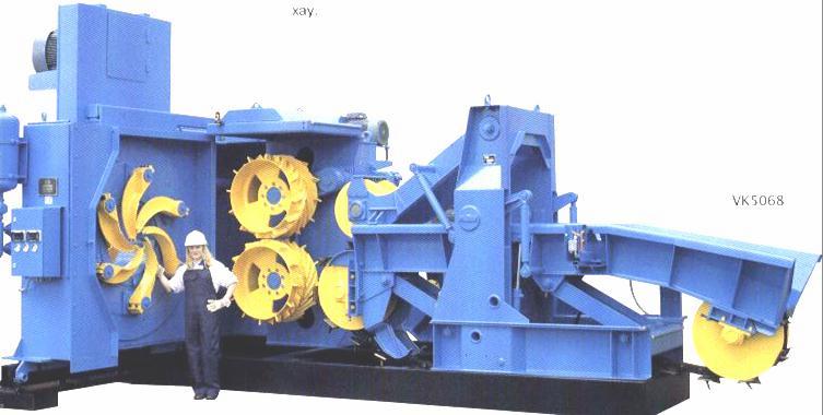 Выдвигаемый ротор станка VK5068