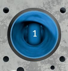 1-й порядок некруглостей отверстий цилиндров