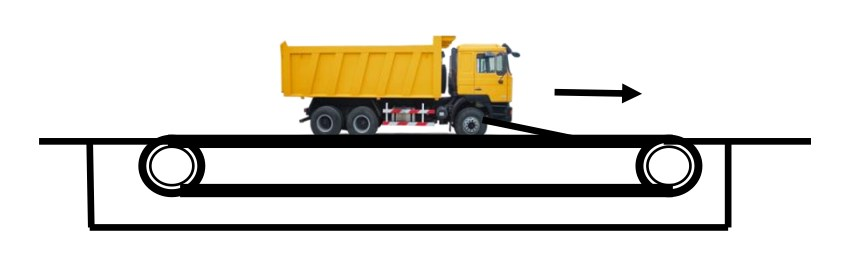 Схема тянущего конвейера