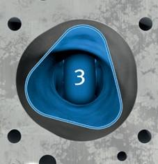 3-й порядок некруглостей отверстий цилиндров