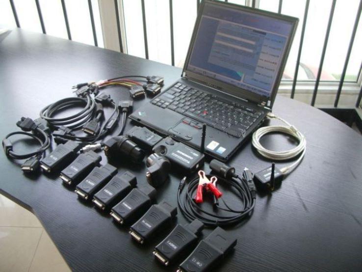 Программируемый автомобильный сканер с персональным компьютером