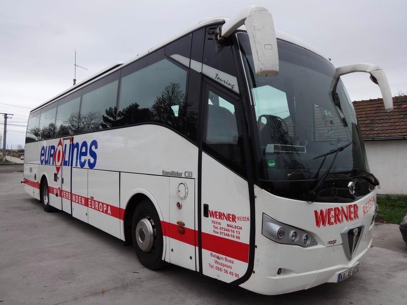 Автобус IVECO – Hochdecker Eurorider