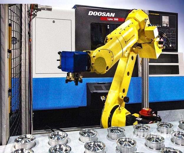 Автоматизация производства с роботом DooCell