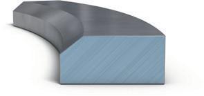 Цилиндрическое компрессионное кольцо с внутренней фаской
