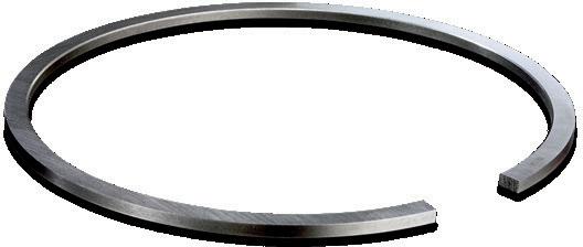 Цилиндрическое компрессионное поршневое кольцо