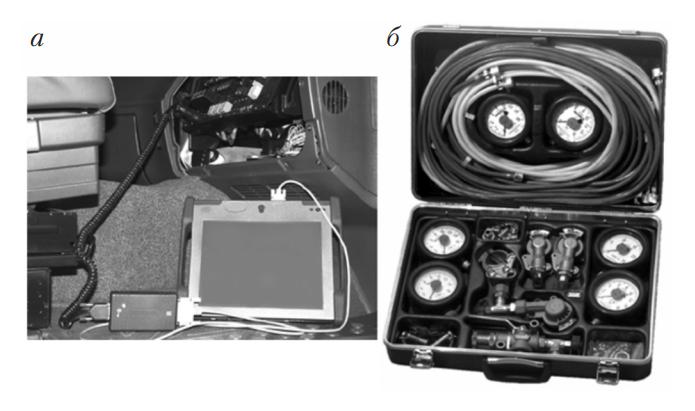 Диагностическое оборудование для проверки тормозных систем с пневмоприводом