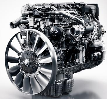 Двигатель грузового автомобиля, разработанный специалистами Daimler Trucks