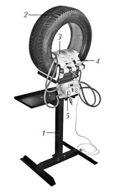 Электрический вулканизатор с эластичными нагревательными элементами