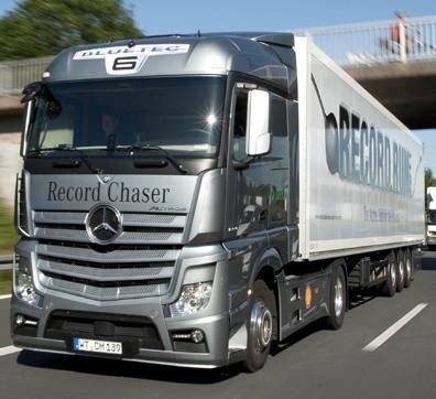 Грузовой автомобиль, разработанный специалистами Daimler Trucks