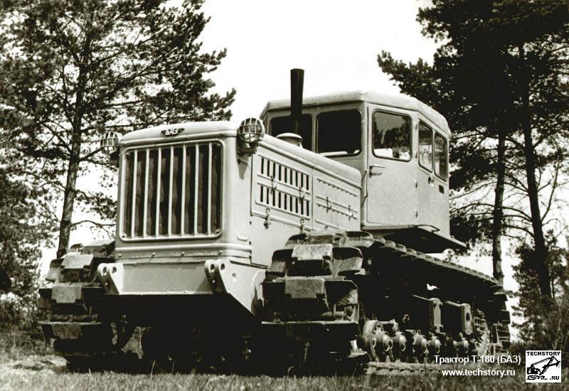 Гусеничный трактор Т-180