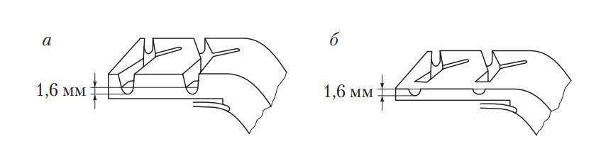 Индикаторы износа шин