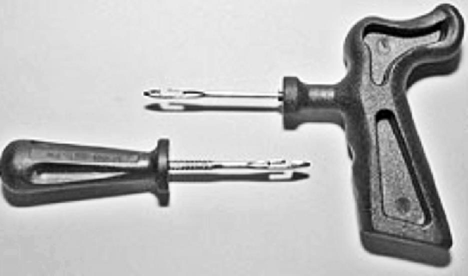 Инструмент для монтажа жгутов и вставок