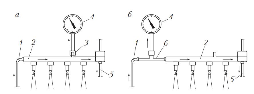 Измерение давления в системах распределенного впрыска с клапаном Шрёдера и без него