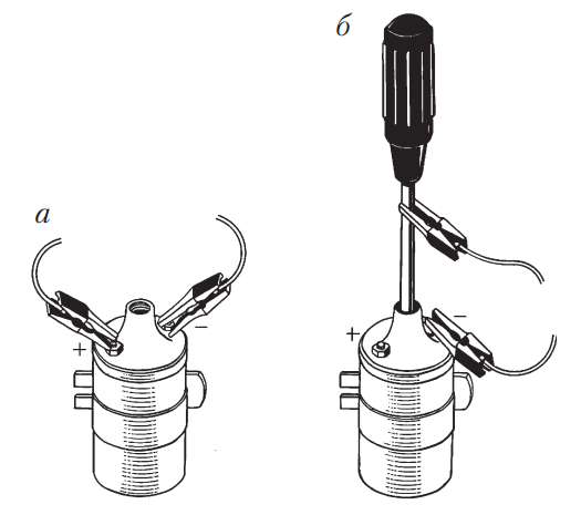 Измерение сопротивления обмоток катушки зажигания