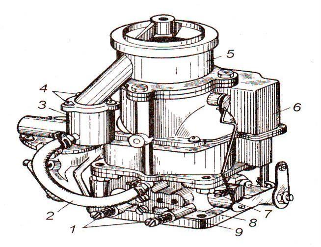 Карбюратор-смеситель К-91