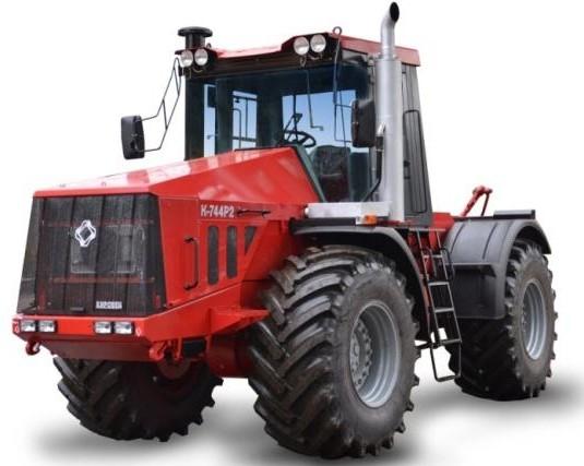 Колесный трактор К-744р2