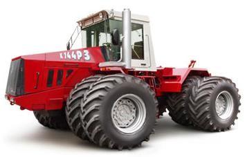 Колесный трактор К-744р3