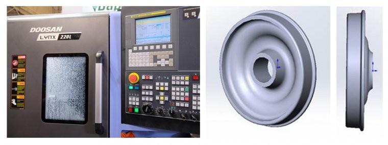Компактный токарный центр LYNX 220LC