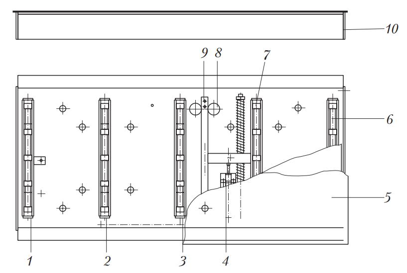 Конструкция стенда для экспресс-диагностики положения колес