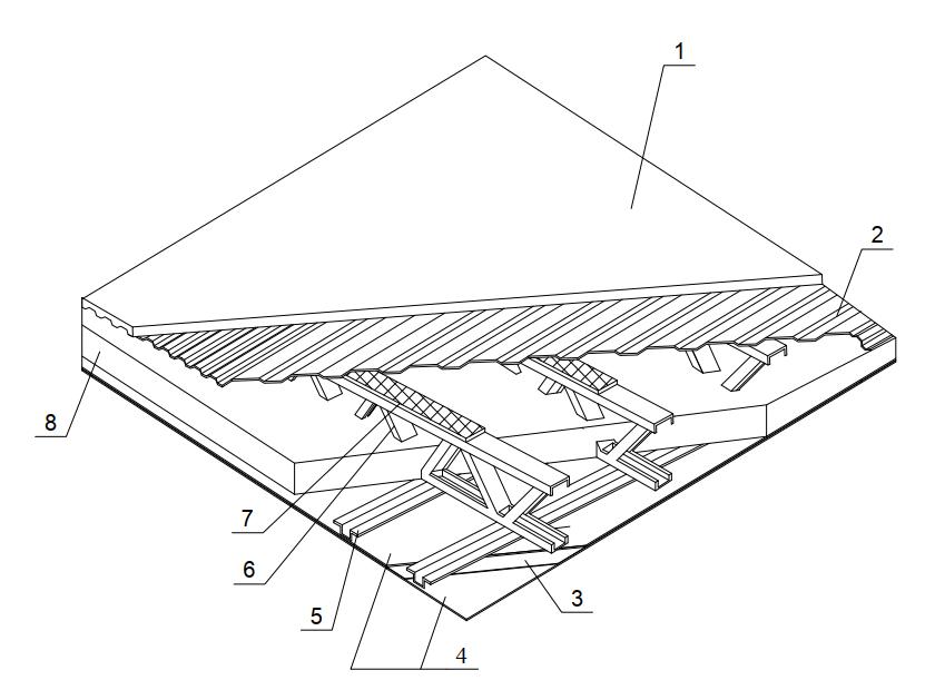 Конструктивное решение междуэтажного перекрытия в зданиях из ЛСТК