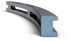 Маслосъемное коробчатое кольцо с параллельными фасками