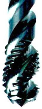 Метчик со спиральными канавками