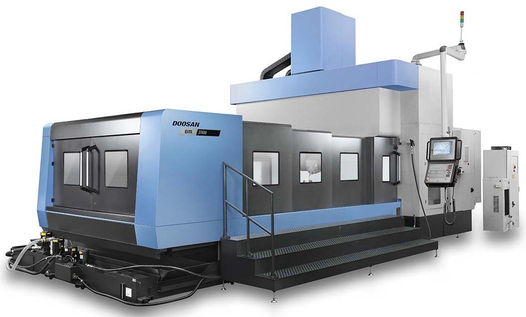 Многофункциональный обрабатывающий центр портального типа модели BM для обработки крупногабаритных изделий