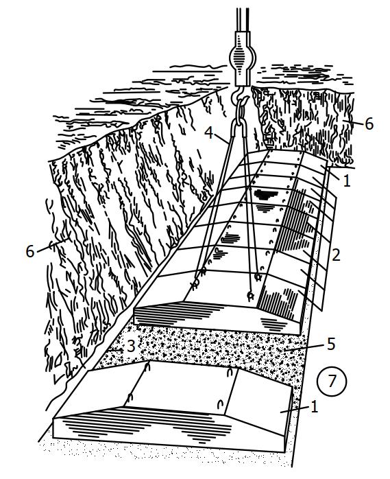 Монтаж фундаментных плит