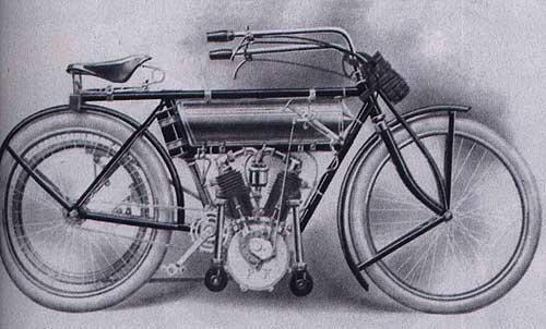 Мотоцикл Peugeot 1909 года