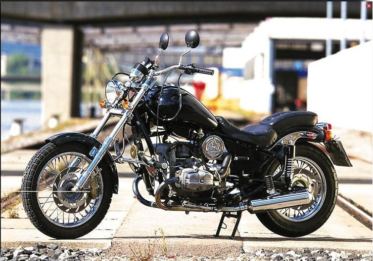 Мотоцикл Урал-Волк