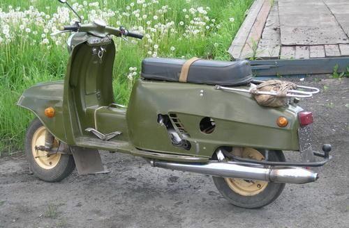 Мотороллер Турист-200М