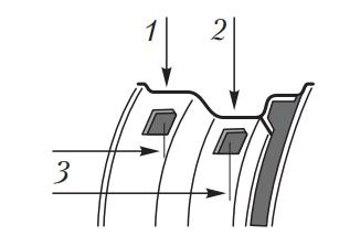 Наклеивание грузиков на диск колеса