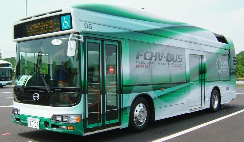 Новый водородный автобус
