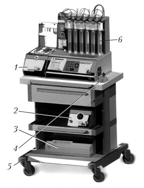 Общий вид стенда TT-Optima для проверки и очистки форсунок бензиновых двигателей