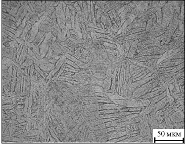 Пластинчатая α-фаза в сплаве ВТ5