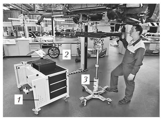 Платформенный комплекс для модульной замены агрегатов