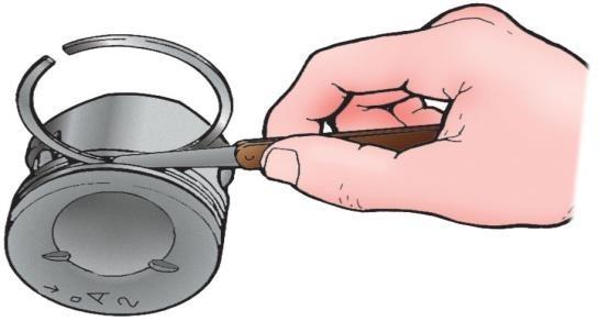 Приспособление для проверки зазора поршневого кольца