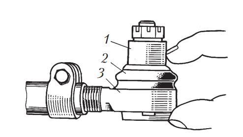 Проверка люфта в шарнирах рулевых тяг
