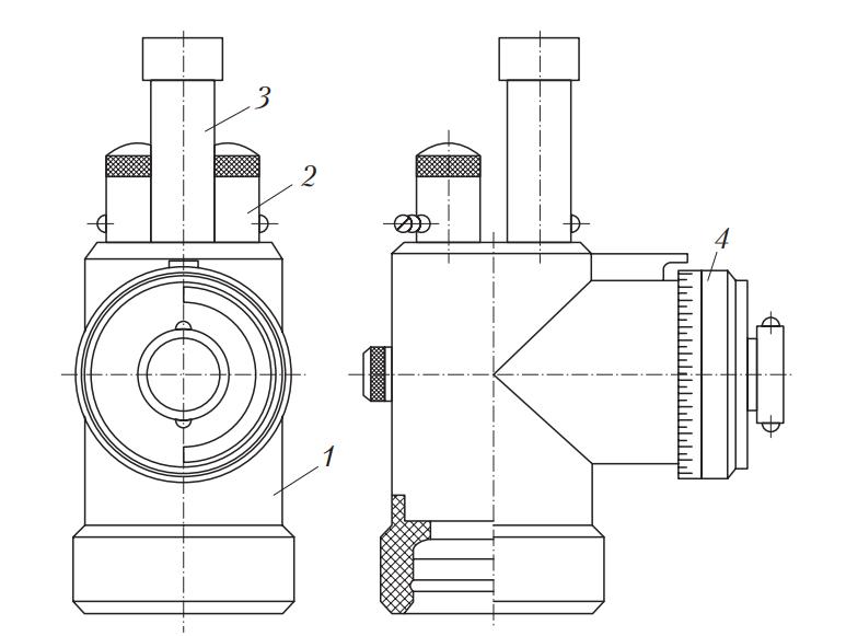 Схема индикатора КИ-13671 расхода картерных газов