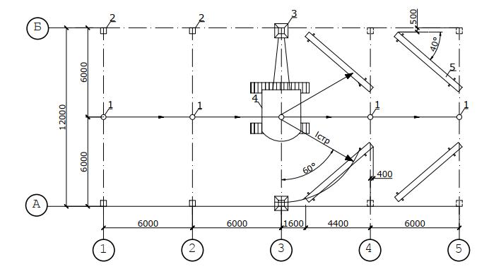 схема монтажа колонн способом «на весу»