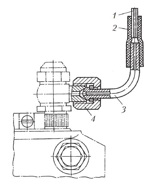 Схема подключения моментоскопа к ТНВД двигателя