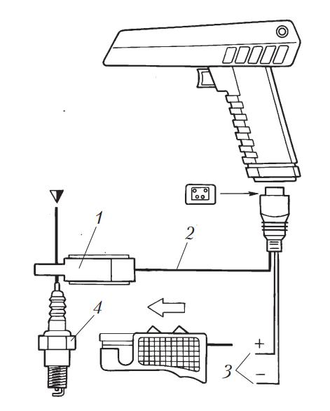 Схема подключения стробоскопа к двигателю
