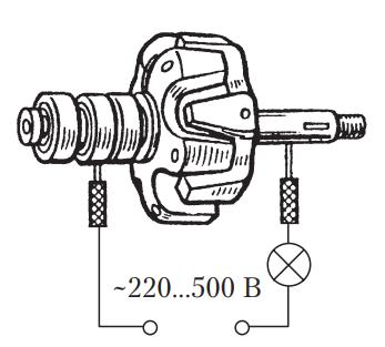 Схема проверки ротора